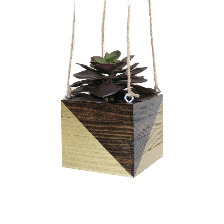 2018 New Design Wooden Hanging Plant Stand Plant Stand ... on Hanging Plants Stand Design  id=64384