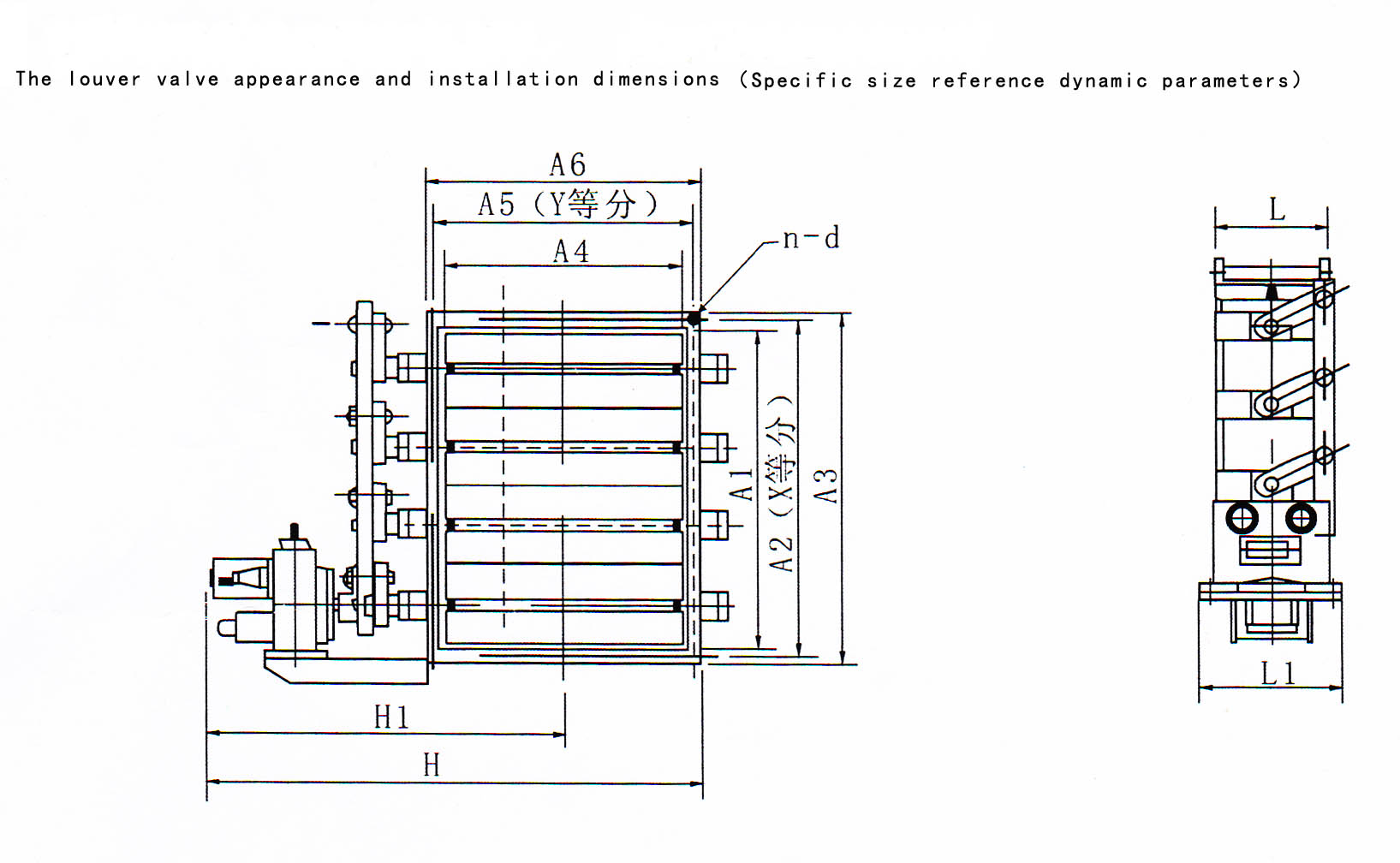 Air Shutter With Actuator