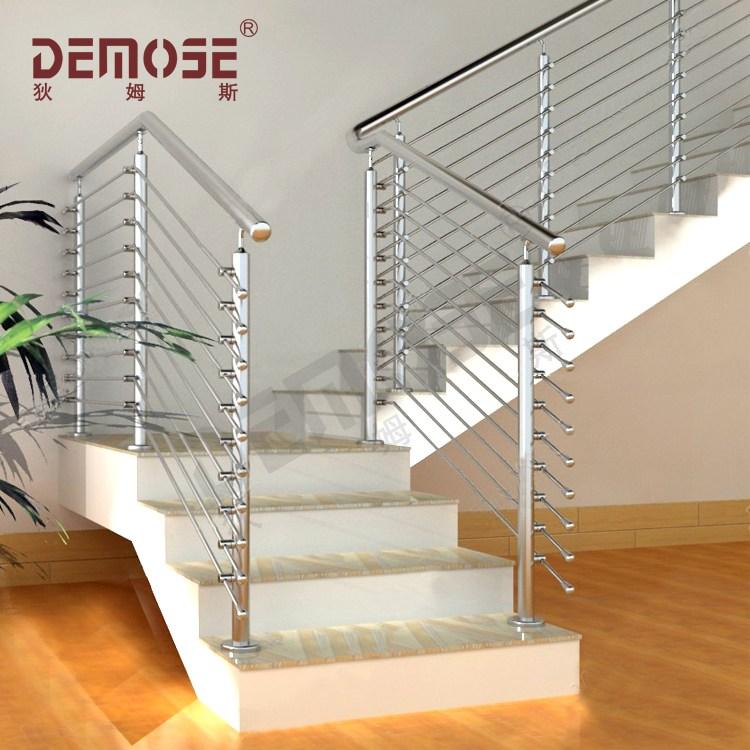Prefab Metal Stair Steel Cable Handaill Ss Railing Design Buy | Pre Made Stair Railings | Aluminum Railing | Wrought Iron Railing | Deck Railing | Cable Railing Systems | Metal