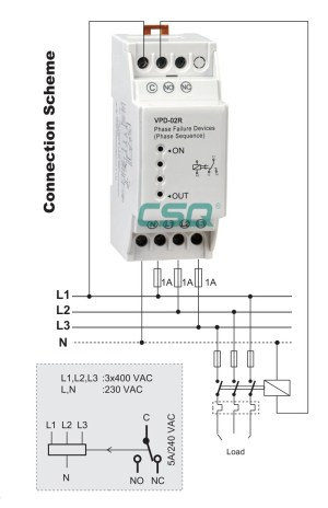 New product VPD02R phase failure relay switch, View relay switch, CSQ Product Details from SIQI