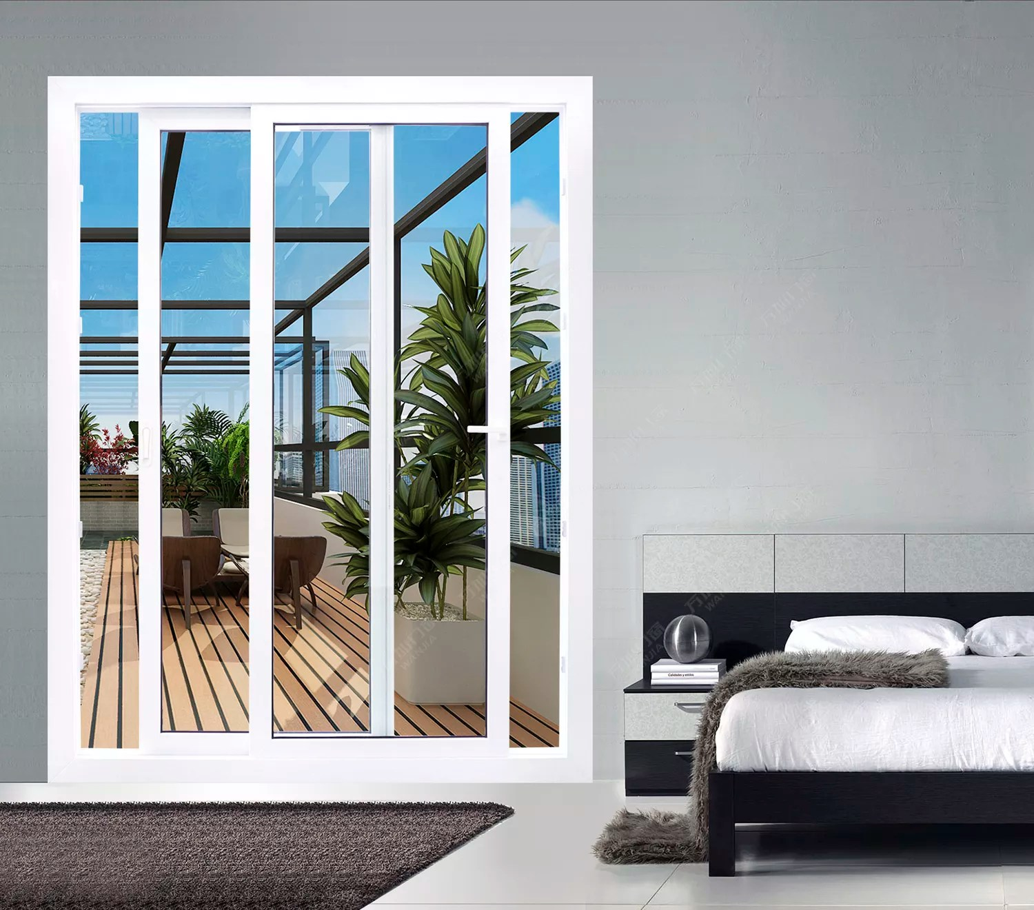 Upvc Pvc Plastic French Patio Balcony Double Door Prices For Bedroom Buy Sliding Glass Door For Living Room Used Sliding Glass Doors Sale Balcony Sliding Glass Door Product On Alibaba Com