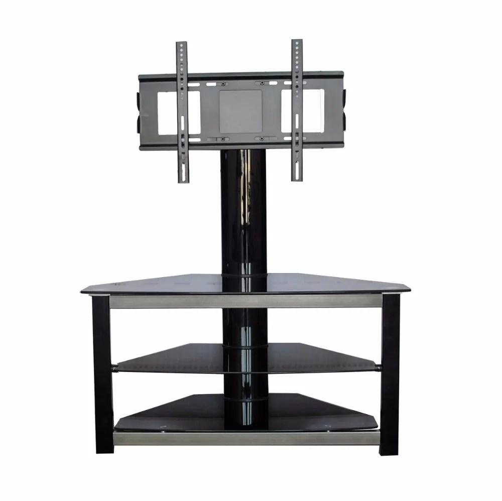 meuble decoratif d interieur en verre trempe noir design moderne et simpliste ideal pour un salon ou une tele buy design de meuble tv lcd meuble tv