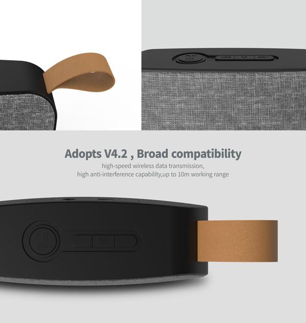 Havit Wireless Outdoor Speaker Linen Fabric Hv-sk578bt - Buy Wireless Outdoor Speaker,Fabric Speaker,Bluetooth Speaker Product on Alibaba.com