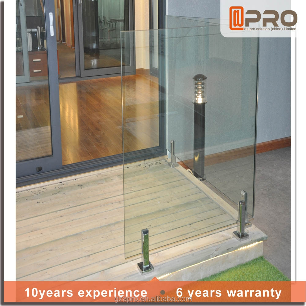 Aluminium Glass Railing Lowes Handrails For Outdoor Steps | Outdoor Steps For Sale