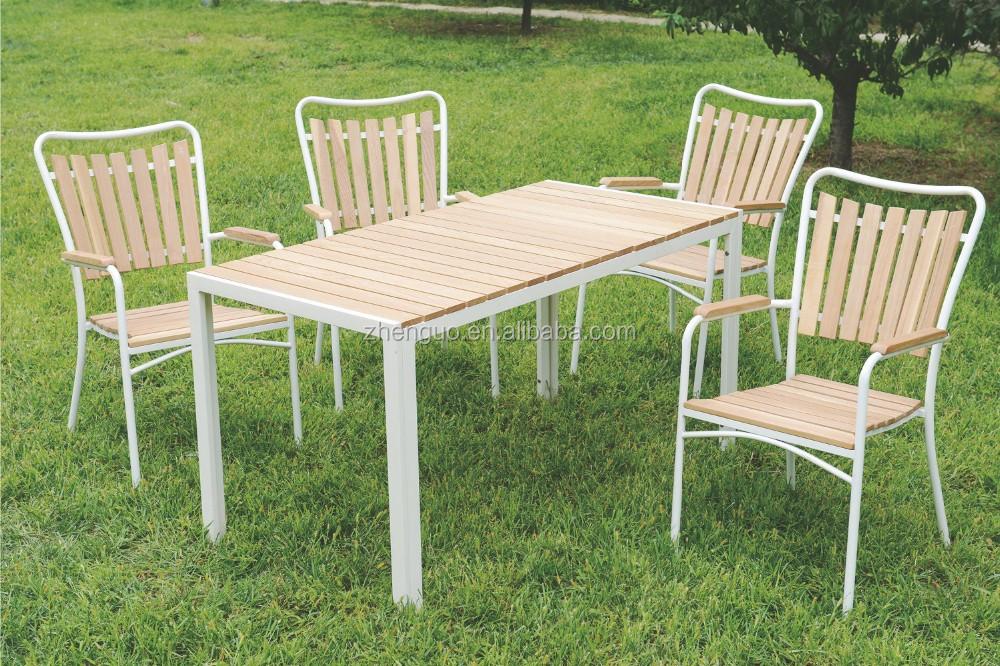 Moderne billig outdoor kunststoff holz stapeln gartenstuhl ...