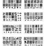 Hot Sale 32pcs 12 6cm Xy L Series Nail Stamping Plates Diy Image Plastic Nail Art Manicure Templates Salon Beauty Polish Tools Buy Nail Art Stamping Product On Alibaba Com