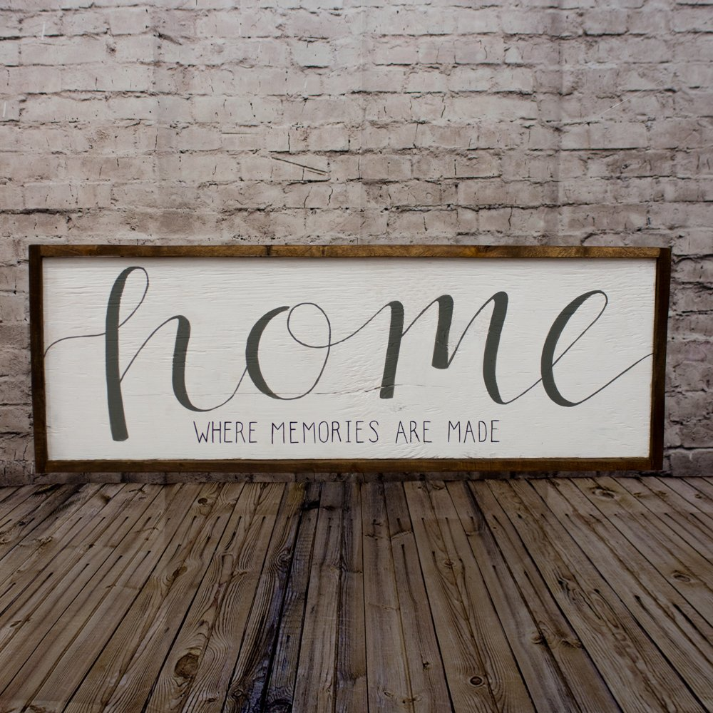 Buy Home sign Rustic home sign Wood home sign Mantle decor ... on Home Wall Decor Signs id=88036