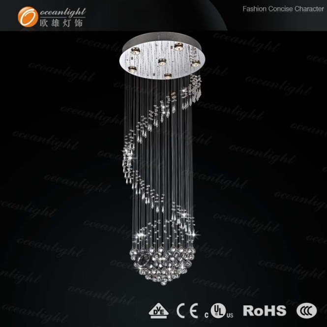 Candellera Om754w Crystal Chandelier Drops Lighting Planet Shape Om756 30