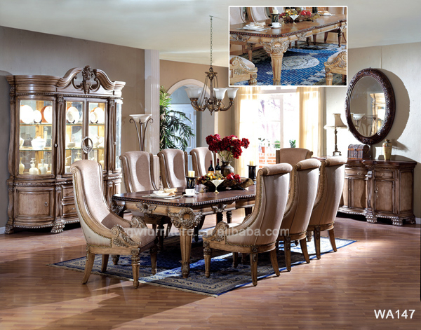 Top Dining TableRoyal Dining Room Furniture Sets Wa141