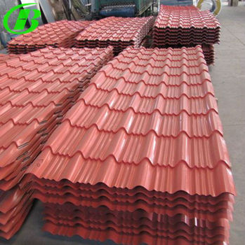 New Building Construction Materials/ Color Glazed Steel ...