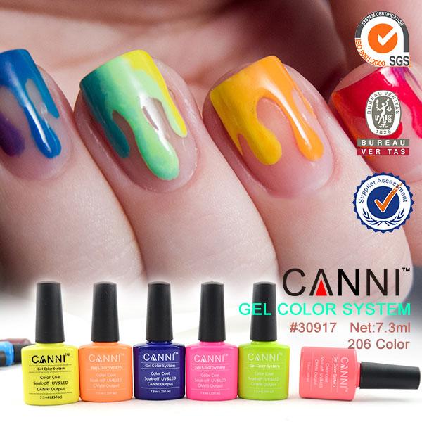 30917 079x Canni Soak Off Uv Led Color 7 3ml Gel Nail Art