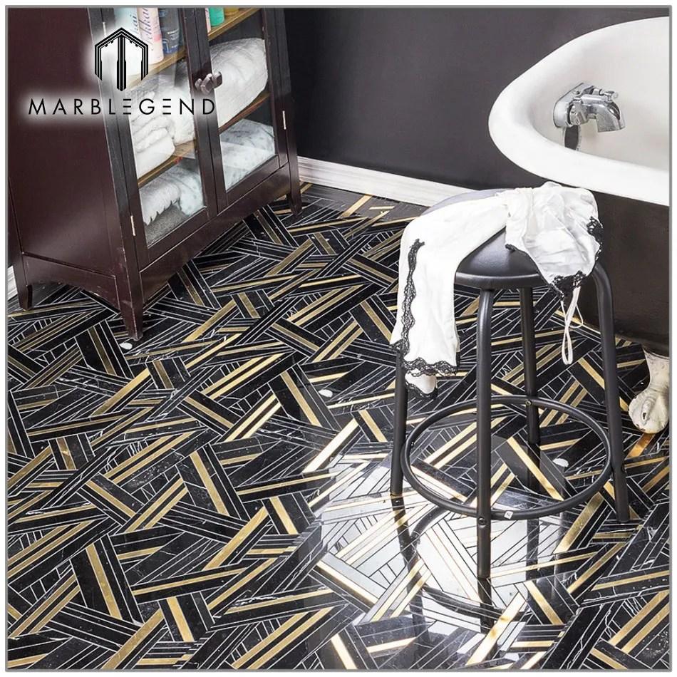 price material floor decor black kairos ecliptic marble tiles mosaic buy tiles mosaic mosaic tile price mosaic floor tile product on alibaba com
