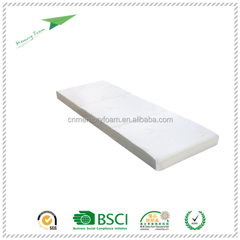 Portable 3 Folding Mattress With Removable Cover