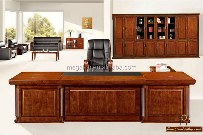 Elegant Boss Deskmodern Office Workstation Luxury Office