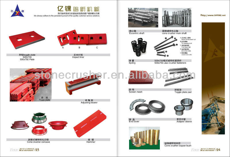 Jaw Crusher Spare Parts Manufacturers   Reviewmotors co