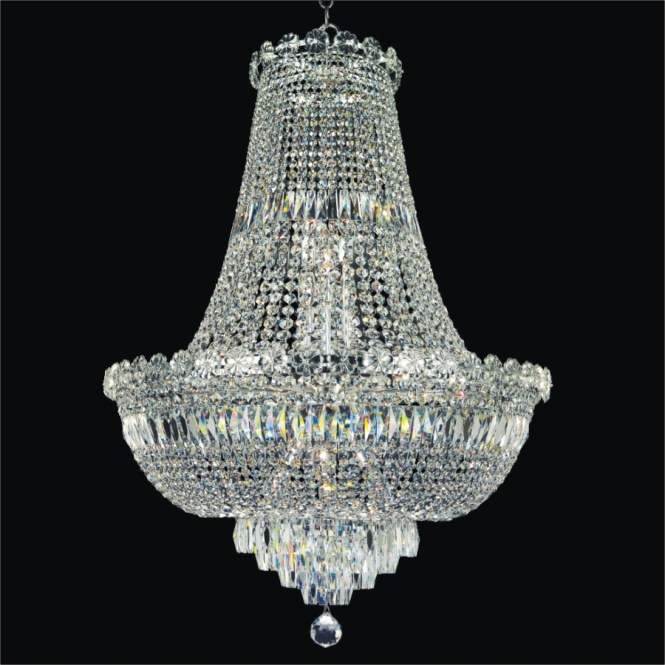 French Empire Crystal Chandelier Lighting Great For The Dining Room Foyer Living Wide Large Light Hotel