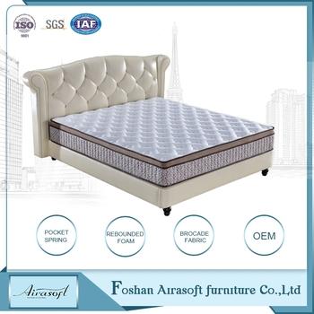 Whole High Quality Sleep Well Hotel Used Memory Foam Spring Bedroom Mattress