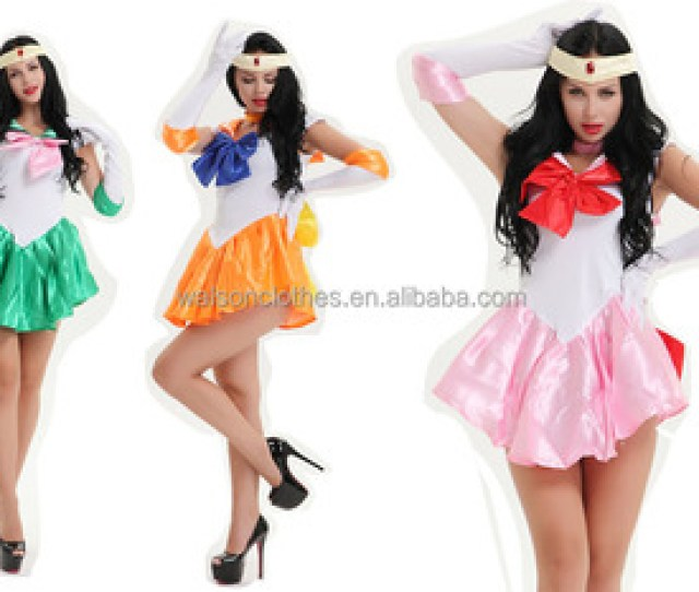 Sexy Navy Sailor Nautical Girl Fancy Dress Ladies Military Womens Adult Sailor Moon Costume