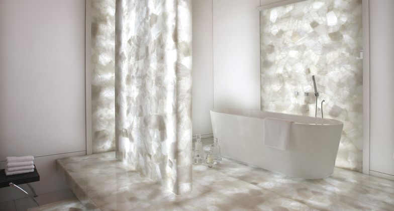 Natural Quartz Crystal Stone Backlit Tileslab For FurnitureWall Design Buy Quartz Crystal