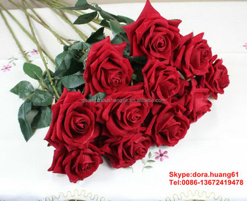 Sjh112923 Artificial Flowers Indian Rose Flower Cheap Artificial Red     SJH112923 artificial flowers indian rose flower cheap artificial red rose  flower
