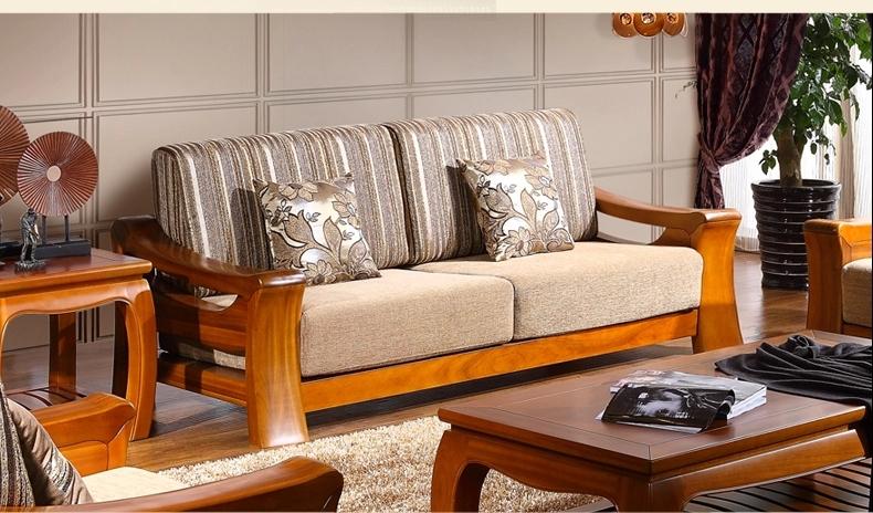 Teak Wood Sofa Set Design For Living Room Furniture Part 39