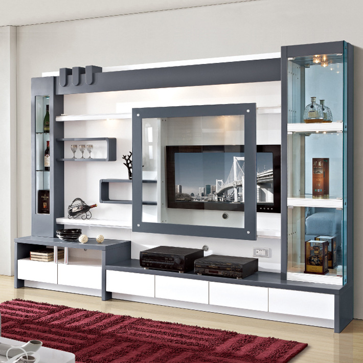 Lcd Tv Wall Units In Living Room