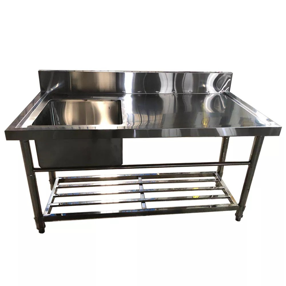 excellent quality 304 grade stainless steel table top kitchen sinks with work table buy high quality kitchen sink kitchen sink 304 stainless