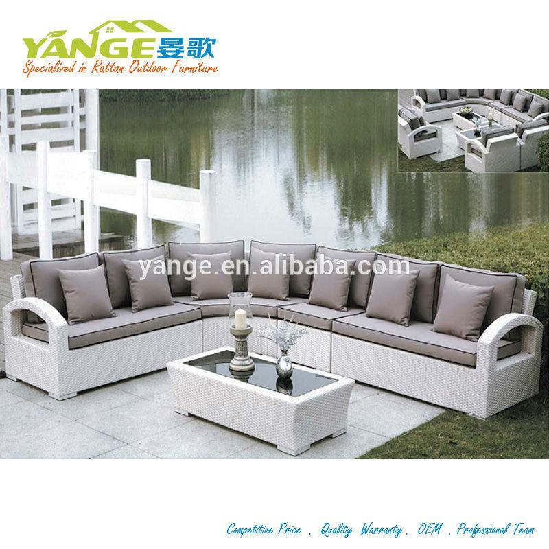 costco mobilier d exterieur en forme de l canape ensemble yg 6010
