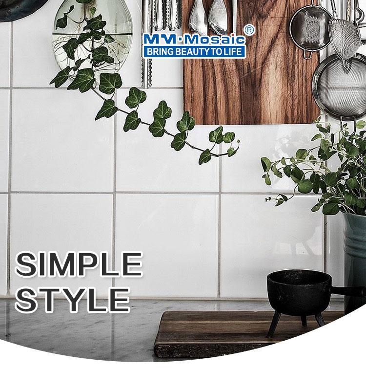 stock clearance home decoration kitchen backsplash square interior white glazed 4x4 ceramic wall tile buy 4x4 ceramic wall tile glazed ceramic wall