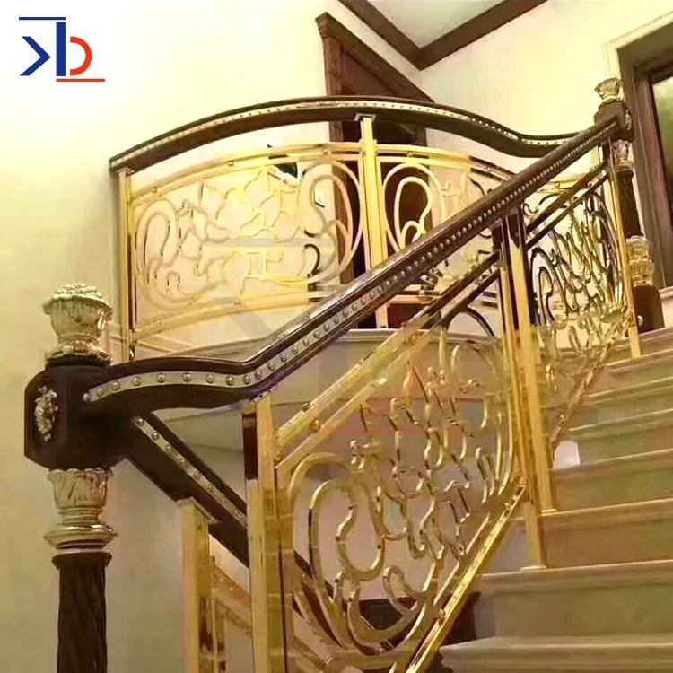 Brushed Stainless Steel Stair Handrail Design Modern Metal Stair | Modern Metal Railings Interior | Modern Style | Horizontal | Wood | Simple | Custom
