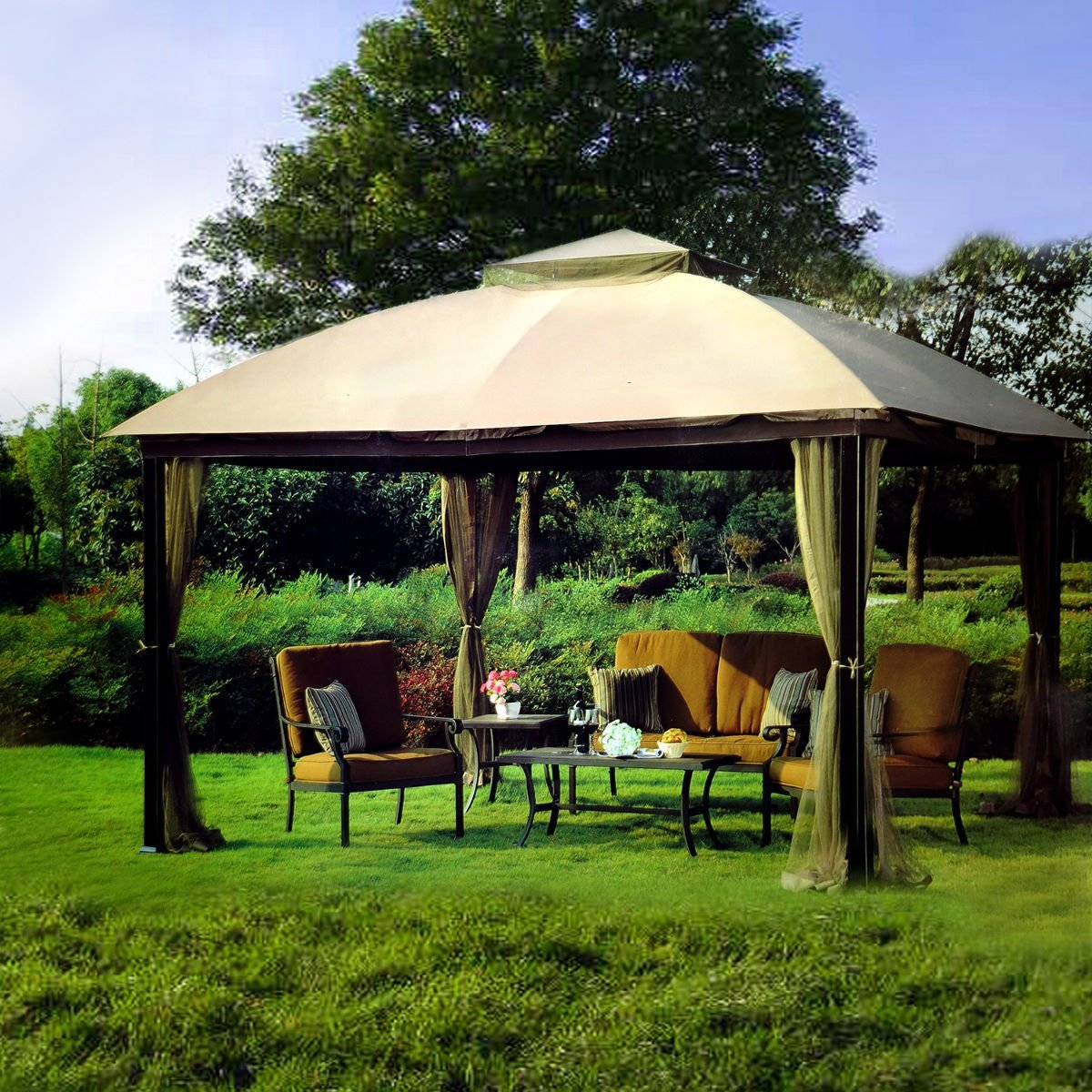 buy 10 x 12 malibu patio gazebo with