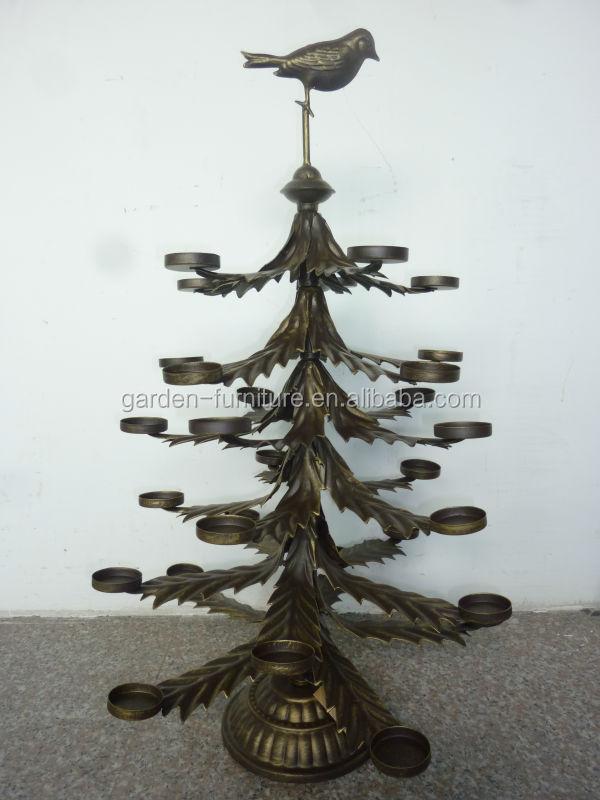 Metal christmas tree decoration holder
