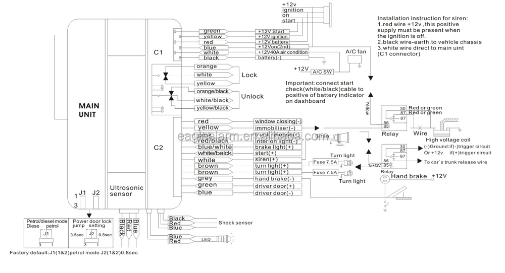 Cobra 3865 Alarm Wiring Diagram - efcaviation.com