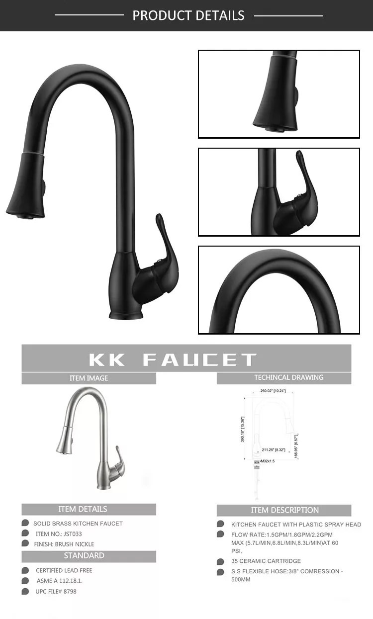 brass high quality industrial pop up pull down kitchen faucet buy pull down kitchen faucet pop up brass faucet industrial kitchen faucet product on