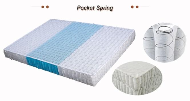 Super Soft Pocket Spring Orthopedic Latex Mattress