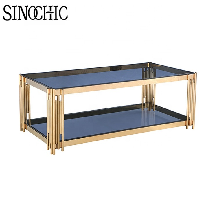 high polishing 201 ss gold plated tempered glass slate coffee table with stools modern round accent table buy gold coffee table coffee table with