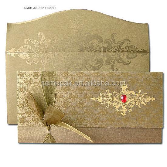 Chinese Premium Customized Printing Paper Card Wedding Invitation Cards
