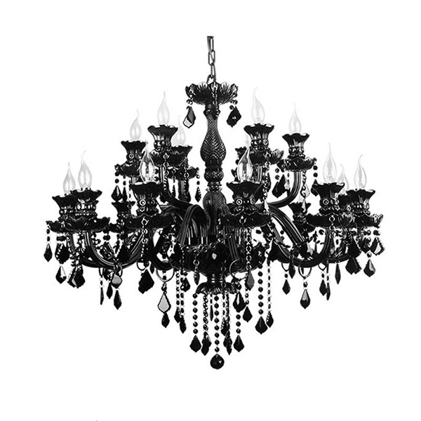 Black Chandelier Baccarat Crystal 85545