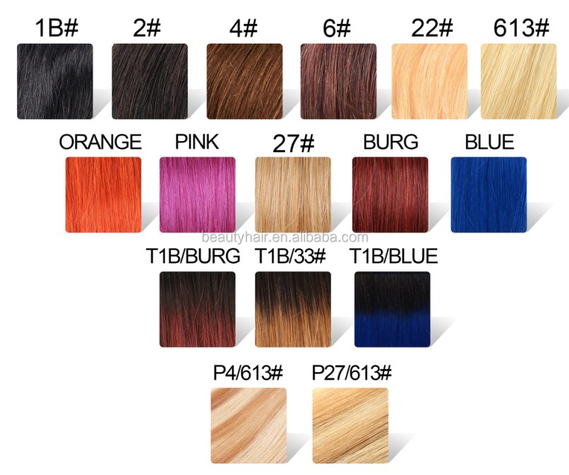 Milky Way Hair Color Chart Zeenla