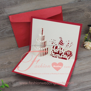 Pop Up Laser Cut Wedding Invitations