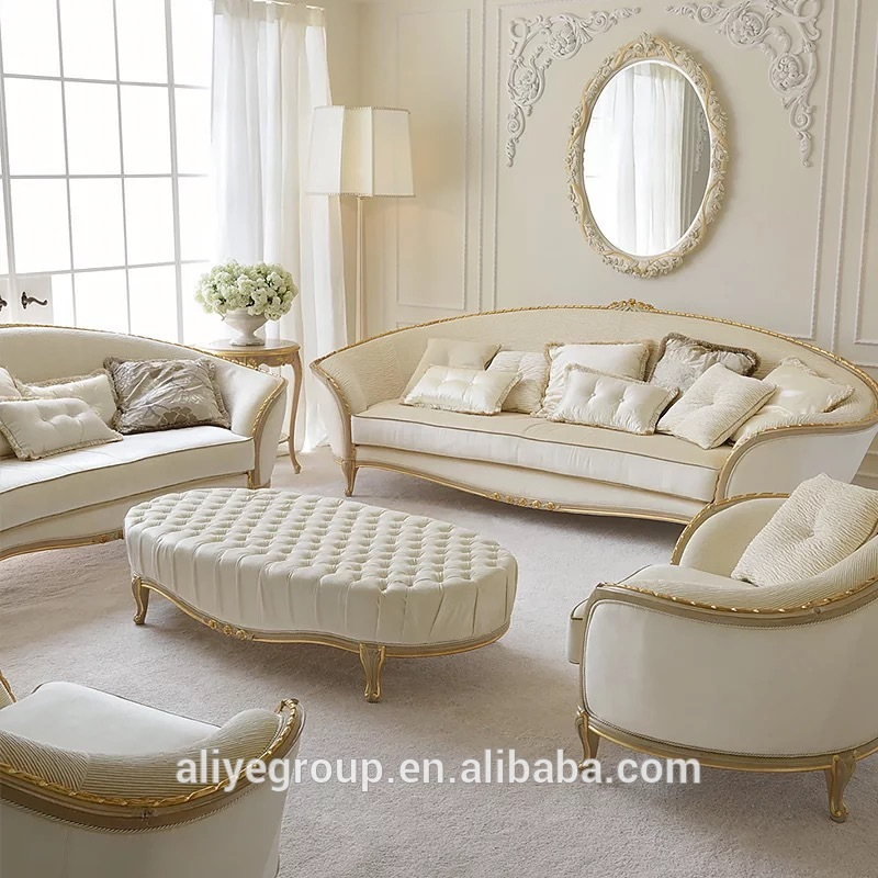 Luxury Living Room Furniture Sofa Set And Gold White Fabric Living Room Sofa Set Buy Formal Living Room Furniture Sofa Set Royal Furniture Sofa Set Luxury Living Room Fabric Sofa Set Classic Wood