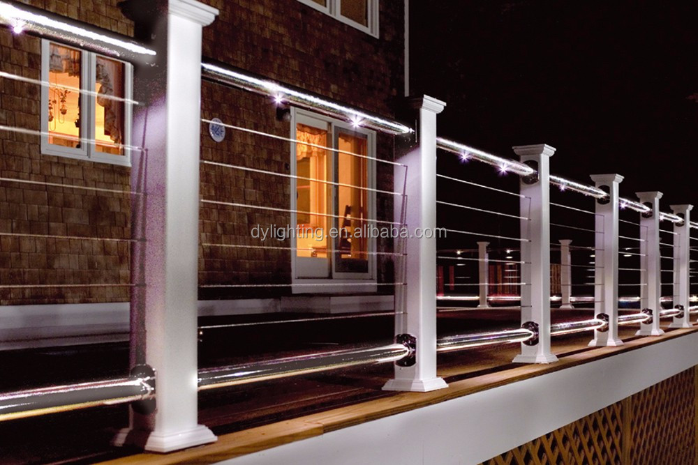 12v Led Rail Fence Lighting For Outdoor And Indoor