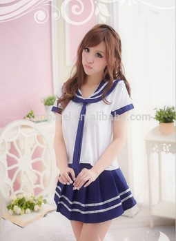 Hot Japanese Adult Sexy School Girl Uniform Costumes For High School Students