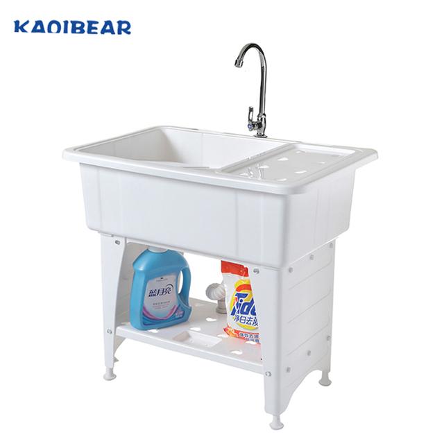 plastic laundry tub wash sink with a washboard buy laundry sink laundry tub wash sink product on alibaba com