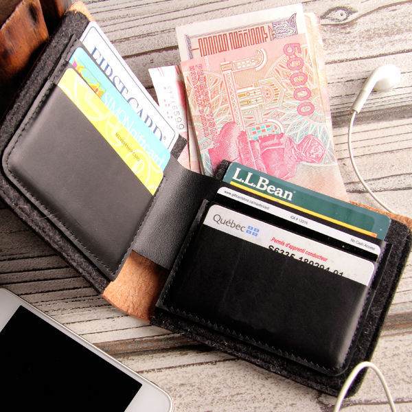 Multi credit card wallet