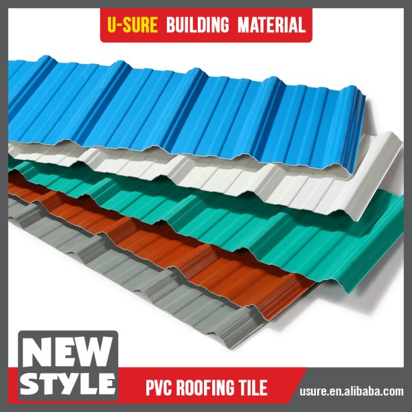 Unit Weight Building Materials / Modern House Roof Sheet ...