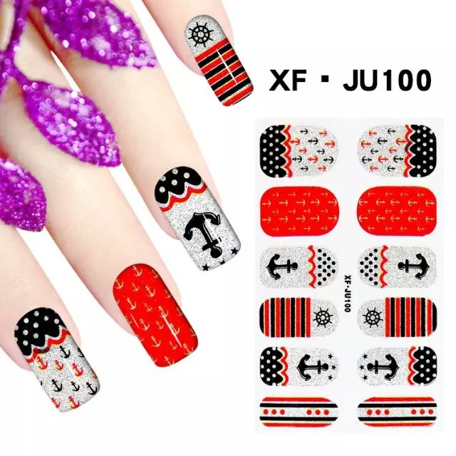 Print Your Own Label Colored Kit Nail Sticker Manufacturer
