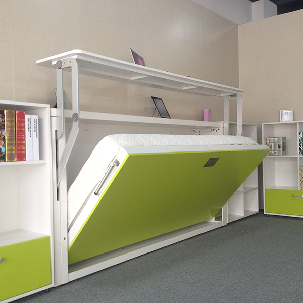 Horizontal Murphy Bed With Study TableMurphy Bed With
