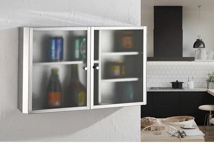 conception d armoire de cuisine suspendu en acier inoxydable meuble mural de haute qualite buy armoires de cuisine armoires de cuisine en acier