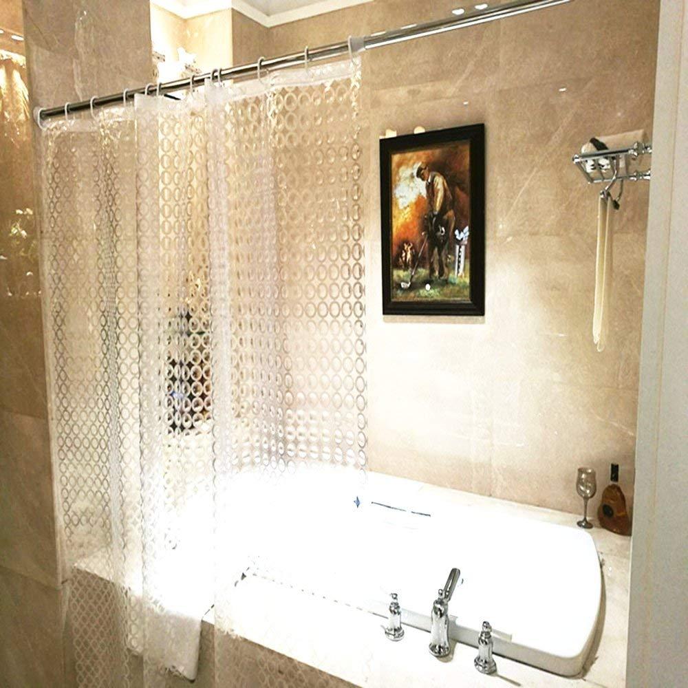 buy aoohome eva shower curtain liner